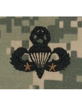 ACU Sew-on SWV-309B Master Combat Parachutist Second Award