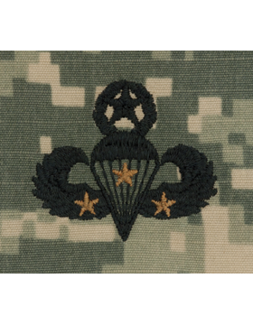 ACU Sew-on SWV-309C Master Combat Parachutist Third Award