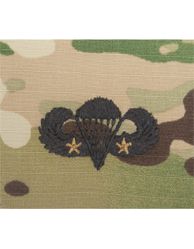 Scorpion Sew-on SWV-407B Combat Parachutist Second Award