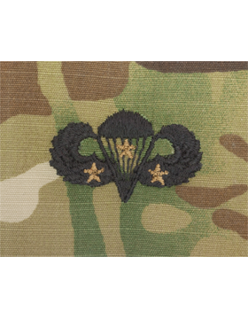 Scorpion Sew-on SWV-407C Combat Parachutist Third Award
