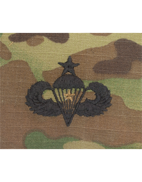 Scorpion Sew-on SWV-408A Senior Combat Parachutist First Award