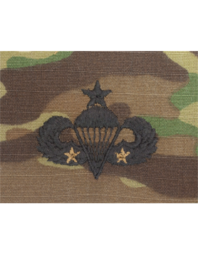 Scorpion Sew-on SWV-408B Senior Combat Parachutist Second Award