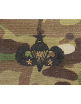 Scorpion Sew-on SWV-408C Senior Combat Parachutist Third Award