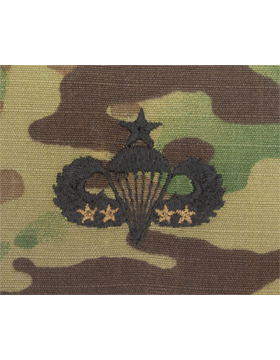 Scorpion Sew-on SWV-408D Senior Combat Parachutist Fourth Award