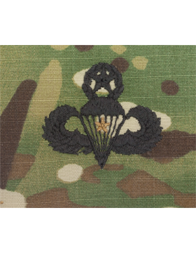 Scorpion Sew-on SWV-409A Master Combat Parachutist First Award