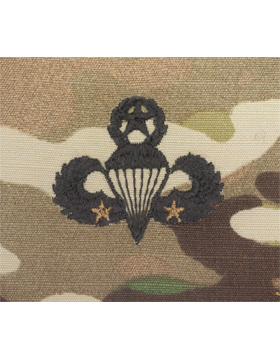 Scorpion Sew-on SWV-409B Master Combat Parachutist Second Award