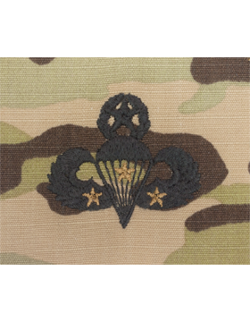 Scorpion Sew-on SWV-409C Master Combat Parachutist Third Award