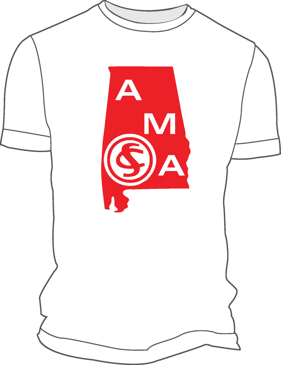 Alabama Military Academy T-Shirt (Heatpressed)