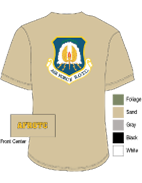 Air Force ROTC Screen Printed T-Shirt (Front: Air Force R.O.T.C.)