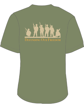 Army Defending Our Freedom T-Shirt 4002