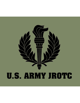 Army JROTC Screen Printed T-Shirt (U.S. Army JROTC Front Only)