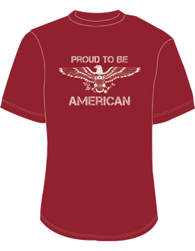 Proud to be American T-Shirt 4017