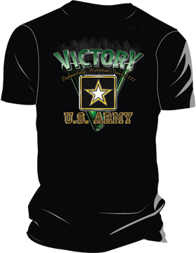 Army Victory T-Shirt 4019