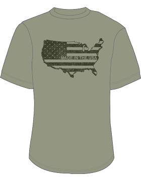 Made in the USA T-Shirt 4021