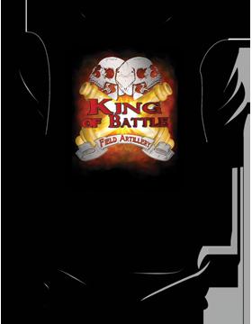 Field Artillery King of Battle T-Shirt 4025