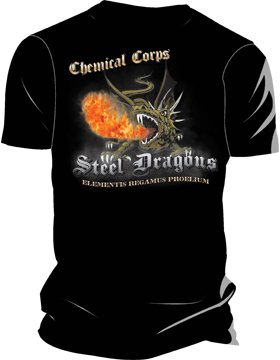 Chemical Corps Steel Dragons T-Shirt 4026