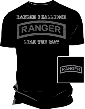 Ranger Challenge Lead the Way Screen Printed T-Shirt 4038