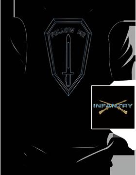 Follow Me Infantry T-Shirt 4041