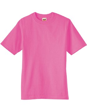 Anvil T-Shirt Ultra 100% Cotton Youth 905B Azalea