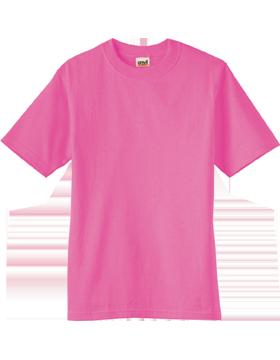 Anvil T-Shirt Ultra 100% Cotton Youth 905B Azalea