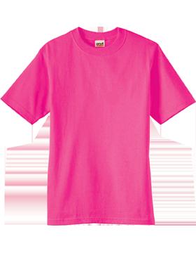 Anvil T-Shirt Ultra 100% Cotton Youth 905B Hot Pink