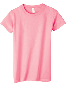 Anvil T-Shirt Ultra 100% Cotton Youth 905B Charity Pink
