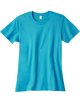 Anvil T-Shirt 100% Ringspun Cotton Ladies 880 small