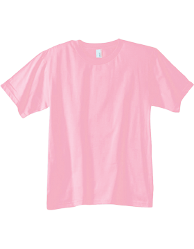 Anvil T-Shirt 990B 100% Ringspun Cotton Youth Charity Pink