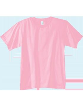 Anvil T-Shirt 990B 100% Ringspun Cotton Youth Charity Pink