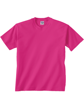 Gildan Ultra 100% Cotton Youth T-Shirt 2000B Heliconia