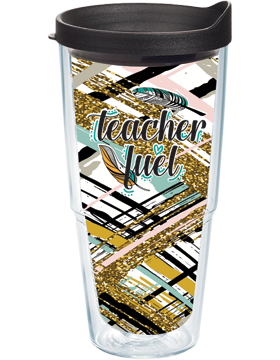 Teacher Fuel Insulated Tumbler