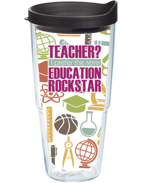 Teacher Education Rockstar Insulated Tumbler