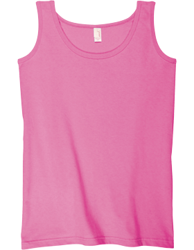 Anvil Ladies Heavyweight Tank Top 815 Azalea