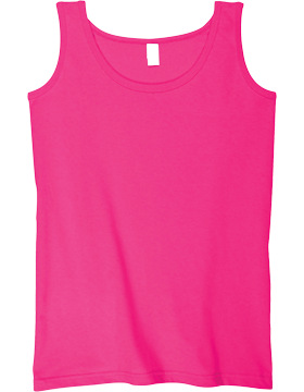 Anvil Ladies Heavyweight Tank Top 815 Hot Pink