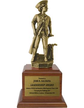 9.5in Minuteman Statue