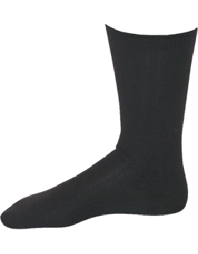 GI Polypropylene Black Moisture Wicking Sock Liner TS-25