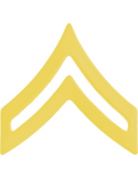 Police Rank (U-102G) Corporal Gold 3/4in (Army)