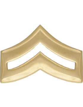 Police Rank (U-111G) Corporal Gold 3/4