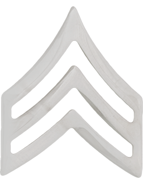 Police Rank (U-185S) Sergeant Nickel 3/4