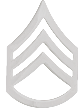 Police Rank (U-186S) Staff Sergeant Nickel 3/4