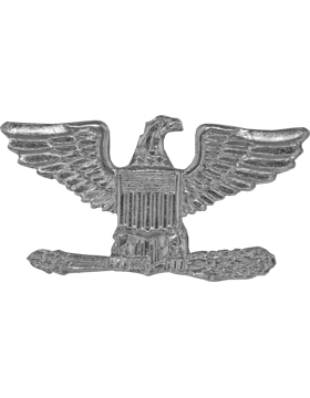 Police Rank (U-204S) Colonel (Eagles) Silver