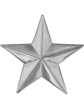 Police Rank (U-205S) One Star Nickel 1