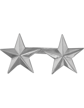 Police Rank (U-206S) Two Star Nickel 1