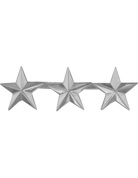 Police Rank (U-207S) Three Star Nickel 1
