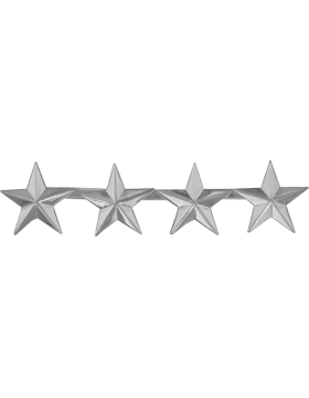Police Rank (U-208S) Four Star Nickel 1