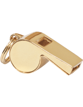 Acme Look-A-Like Whistle (U-920G) Gold