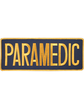 U-N105 Paramedic 11in Patch small