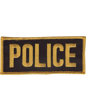 U-N121 Police 2in x 4in Patch