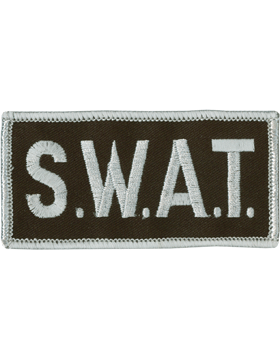 U-N123 S.W.A.T. 2in x 4in Patch