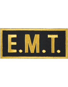 U-N124 E.M.T. 2in x 4in Patch